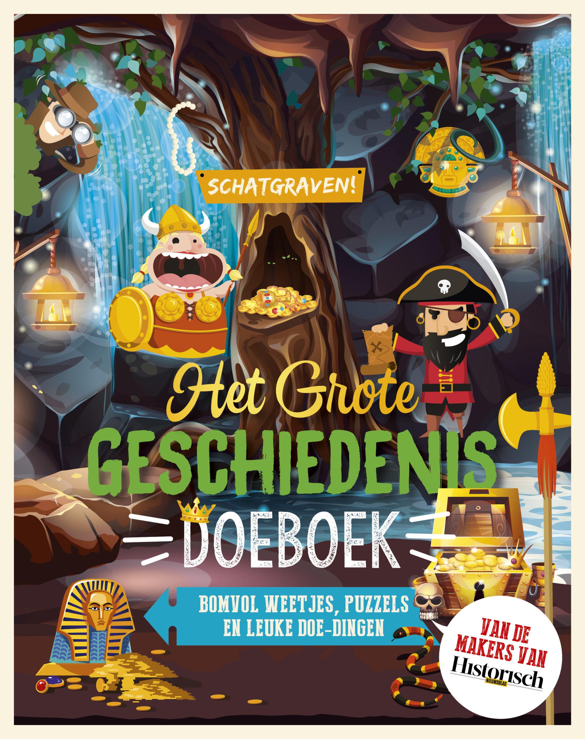 Het Grote Geschiedenis Doeboek - Schatgraven!